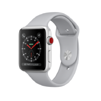 apple watch 42mm cellular silver